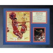 "Legends Never Die ""Julius Erving 76ers"" Framed Photo Collage, 11"" x 14"""