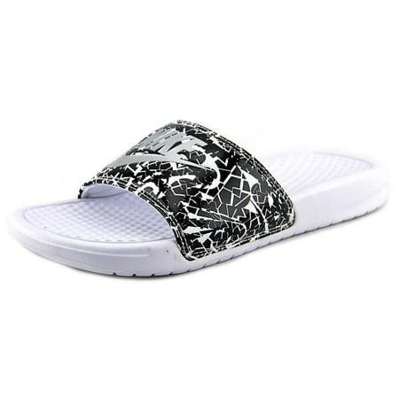 6e98888f86922 Nike - Nike Benassi JDI Print Women US 8 White Slides Sandal ...
