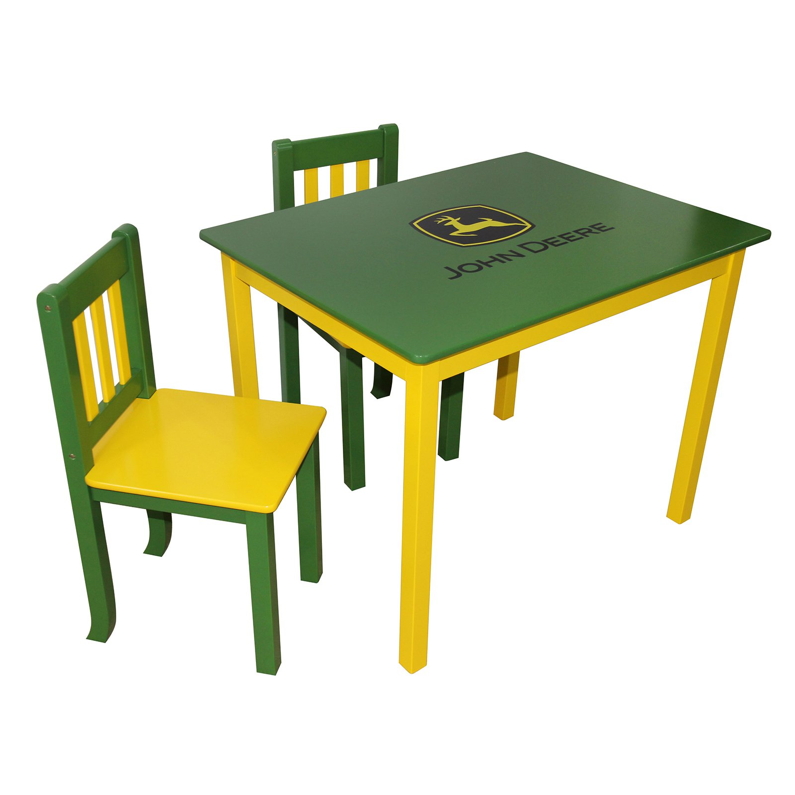 John Deere Kids Table & Chairs Set, Multiple Colors