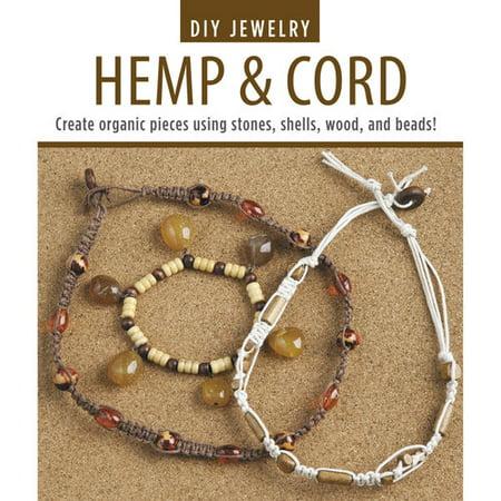 Leisure Arts Inc DIY Jewelry Hemp & Cord Project Book, 1 Each