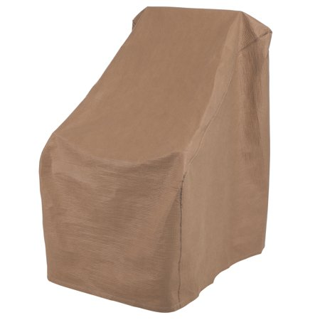 "Duck Covers 32""x40""x40"" Tan Patio Porch Rocker Chair Cover, Essential"