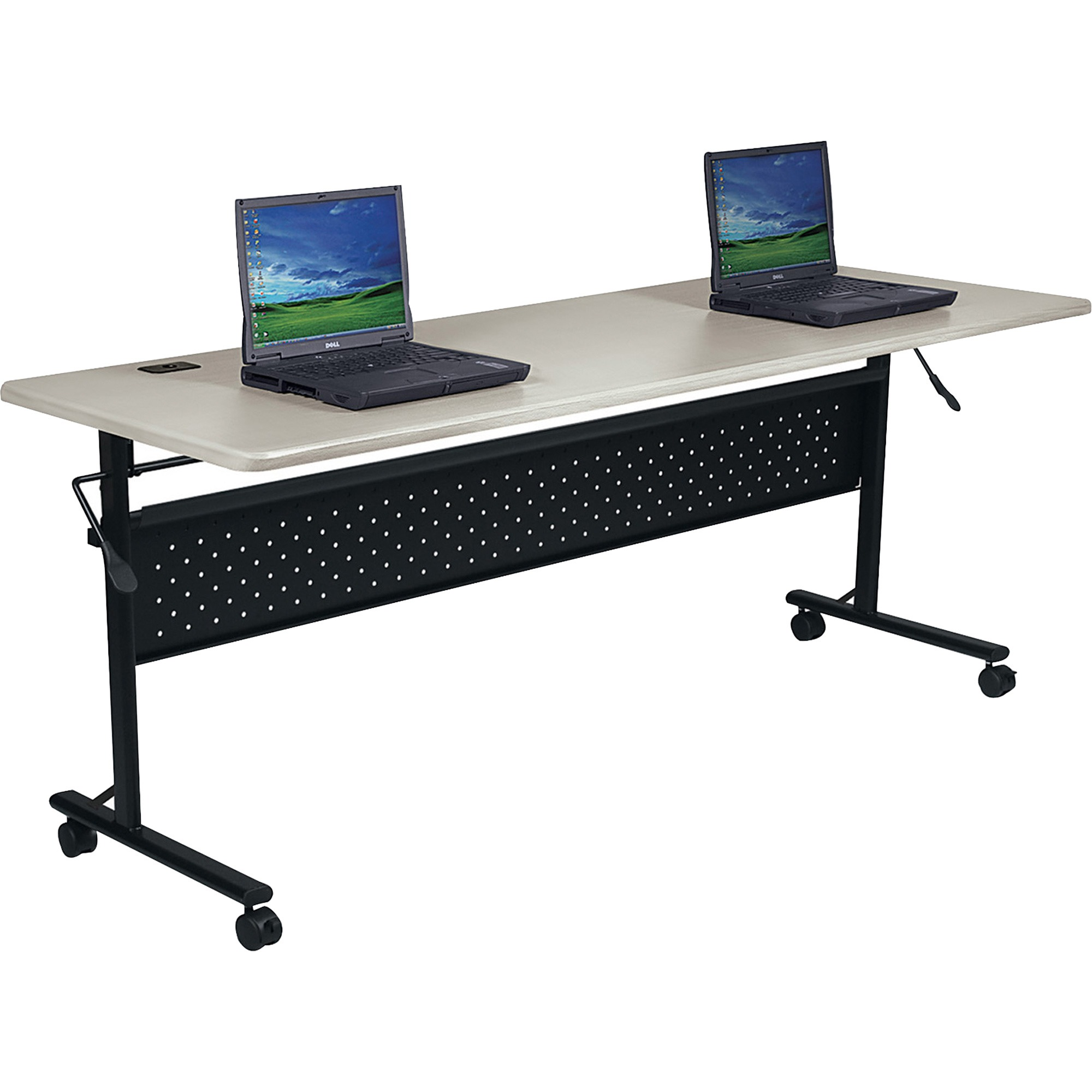 Lorell, LLR60673, Flipper Training Table, 1 Each