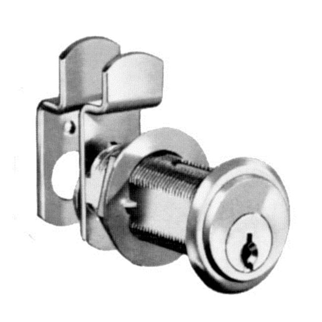 National Lock N8106 26D 915 1-7-16 inch Cylinder Key 107 Pin Tumbler Locks - Dull Chrome