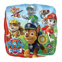 Paw Patrol Mylar Balloon Chase & Marshall Nickelodeon  Party Decoration 18""