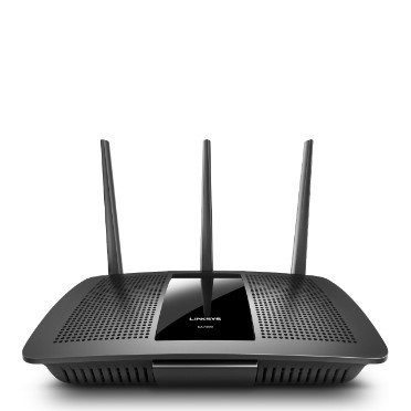 Linksys Max-Stream AC1750 Next Gen AC Mu-Mimo Smart Wi-Fi Router - Black (EA7300)