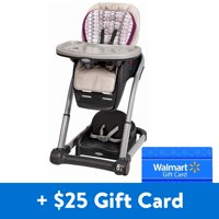 [$25 Additional Savings] Graco Blossom 6-in-1 Convertible High Chair, Nyssa with Free $25 Gift Card