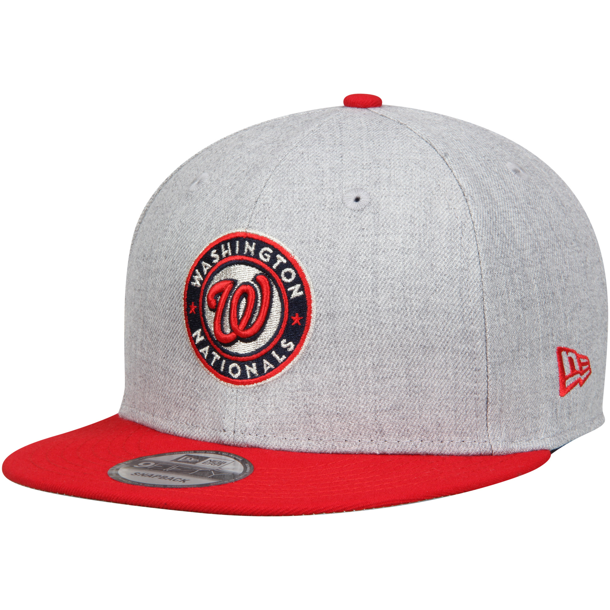 Bryce Harper Washington Nationals New Era Player Designed Program Harper 9FIFTY Hat - Heathered Gray/Red - OSFA