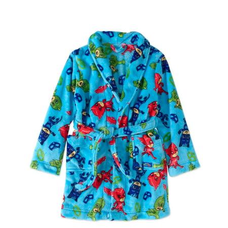 Pj Masks Boys' Poly Knit Robe
