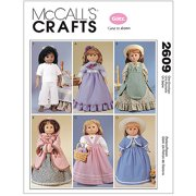 "McCall's Pattern Clothes For 18"" Doll, 1 Size Only"