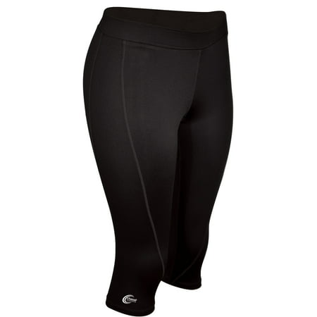 Chasse Womens' Performance C-Fit Capris Black Adult Large Size - Large