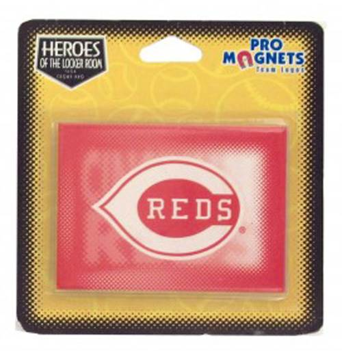 Cincinnati Red Magnet Set of 24 by Kole Imports