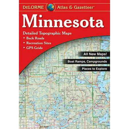 - Minnesota - Delorme: 9780899333335
