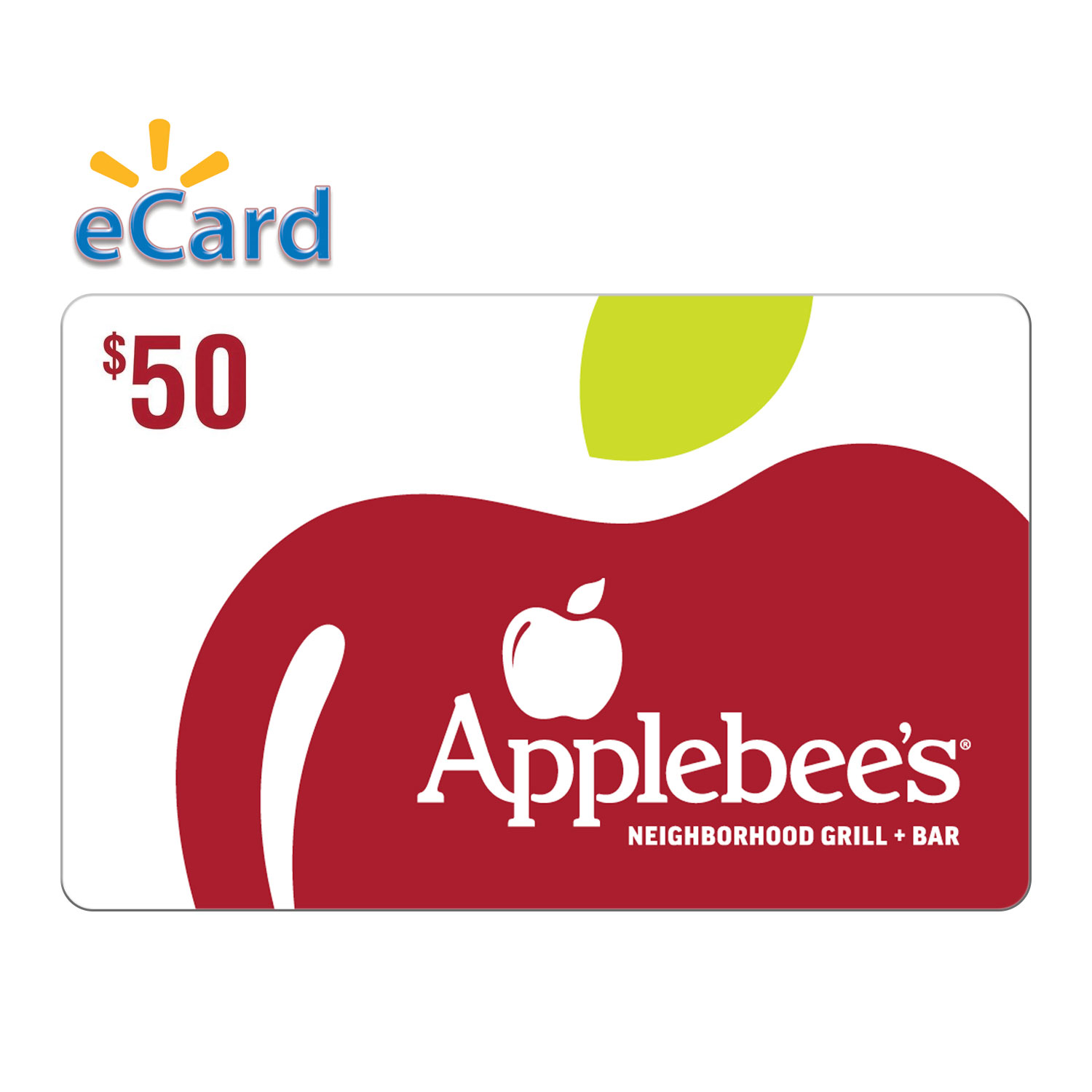 Applebee's $50 Gift Card (email Delivery)