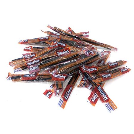 Twizzlers Pull and Peel, Orange & Black Cherry, Halloween Edition Candy 4 Pounds Bag - Why Candy On Halloween