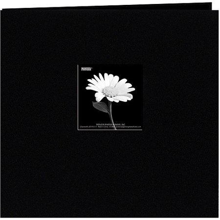 - Book Cloth Cover Postbound Album With Window, 8