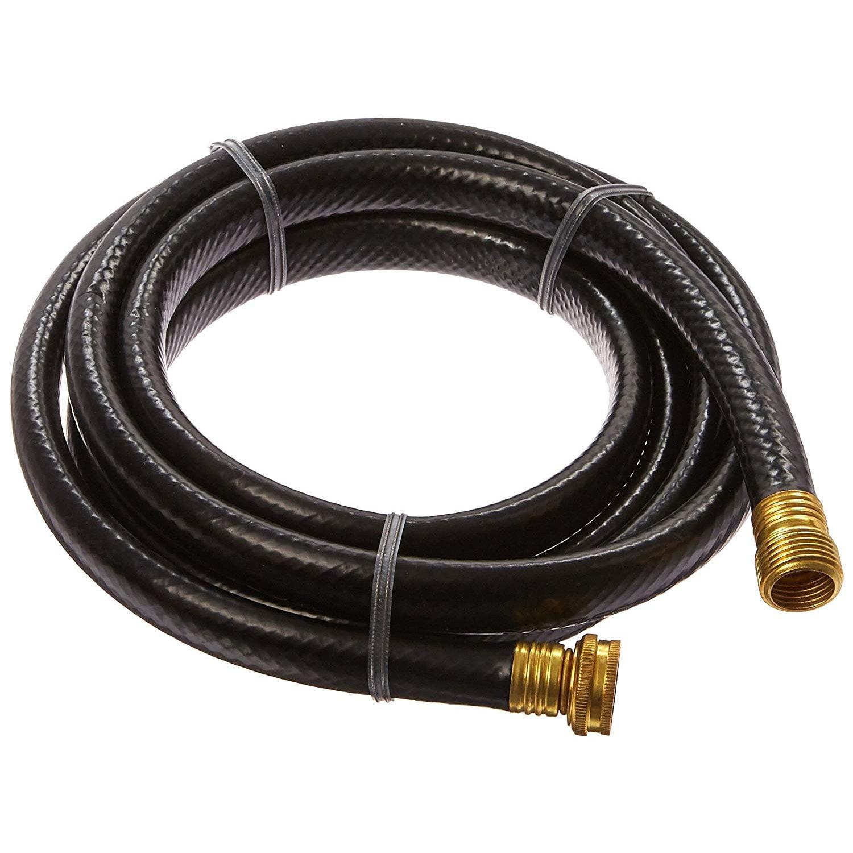 Suncast HSE10 5/8 Inch Diameter 10 Foot Faucet Attachment Extension Hose, Black