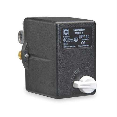 Condor USA 31WG3ELX Pressure Switch, 3PST, 160/200 psi