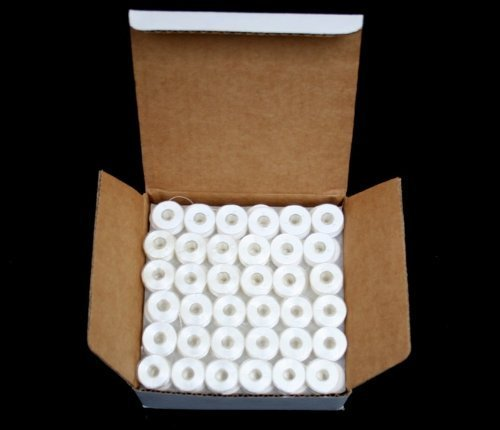 Size L Pre-wound Bobbins For Use In Brother PR Embroidery Machine