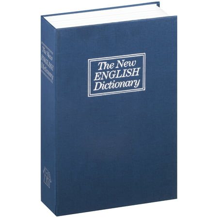 Borateem Color Safe - Stalwart Lock Box Diversion Book Safe with Key Lock, W200017