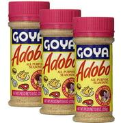 Goya Adobo with Saffron (Azafran) 8 oz, Pack of 3