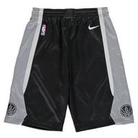 San Antonio Spurs Nike Youth Swingman Icon Performance Shorts - Black