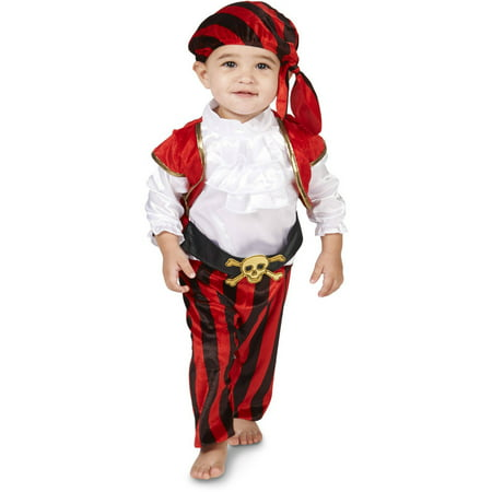 Cheap Halloween Costumes For 12-18 Months (Arrrgh! Arrrgh! Pirate Infant Halloween Costume, Size 12-18)