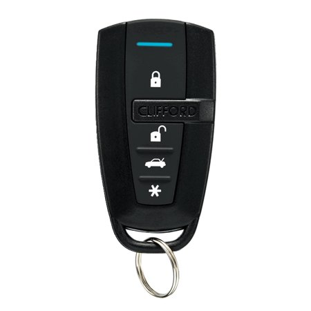 7145X Clifford Replacement Remote Control Transmitter 4-Button Blue LED by Directed (1 Button Remote Transmitter)