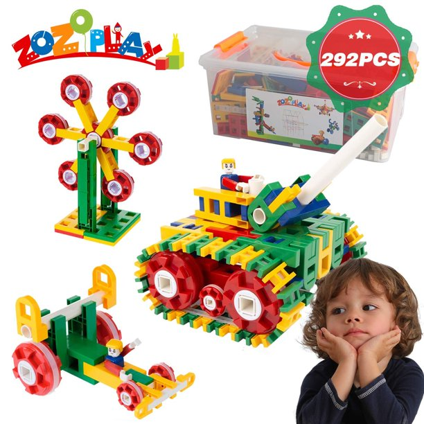 ZoZoplay STEM Toys Building Set Educational Construction ...