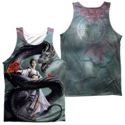 Anne Stokes - Dragon Dancer (Front/Back Print) - Tank Top - Medium