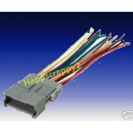aftermarket stereo wiring harness stereo wire harness saturn ion 04 05 2004 2005  car radio wiring  stereo wire harness saturn ion 04 05