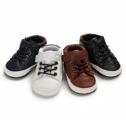 Nituyy Soft Sole Newborn Kids Baby Boy Girl Pre Walker Crib Shoes Sneakers 0 18 Months Walmart Com Walmart Com