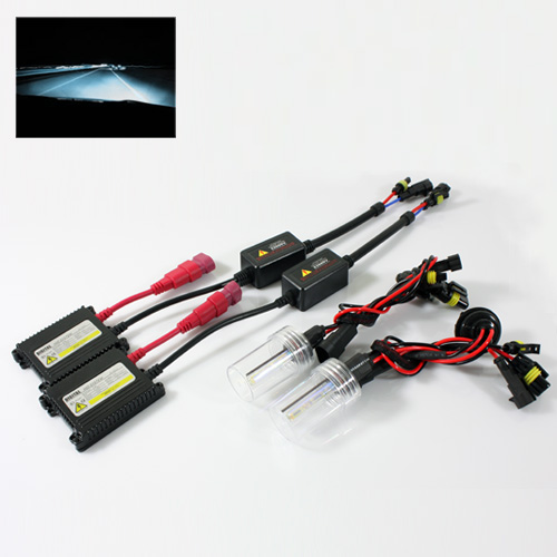 Modifystreet H10/9040/9050/9055/9140/9145 35W Slim DC Ballast Xenon HID Conversion Kit - 8000K Plasma White
