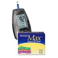 Nova Max Combo  1 Nova Max Meter and 2 Boxes of 50 Nova Max Test Strips
