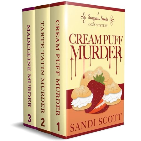 Seagrass Sweets Cozy Mystery Series Books 1-3 Boxset - eBook