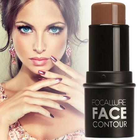 Makeup Natural Cream Face Eye Foundation Concealer Highlight Contour Pen Stick CYBST