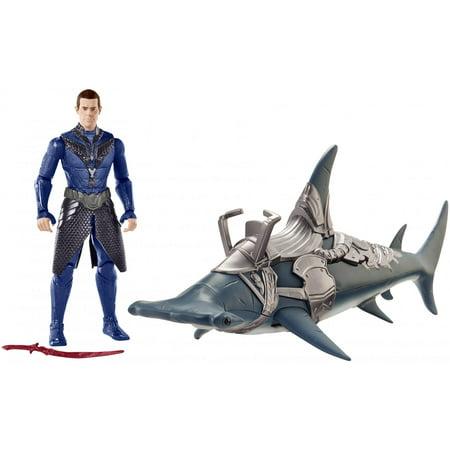 Aquaman 6-inch Vulko Figure & Hammerhead Shark 2-Pack