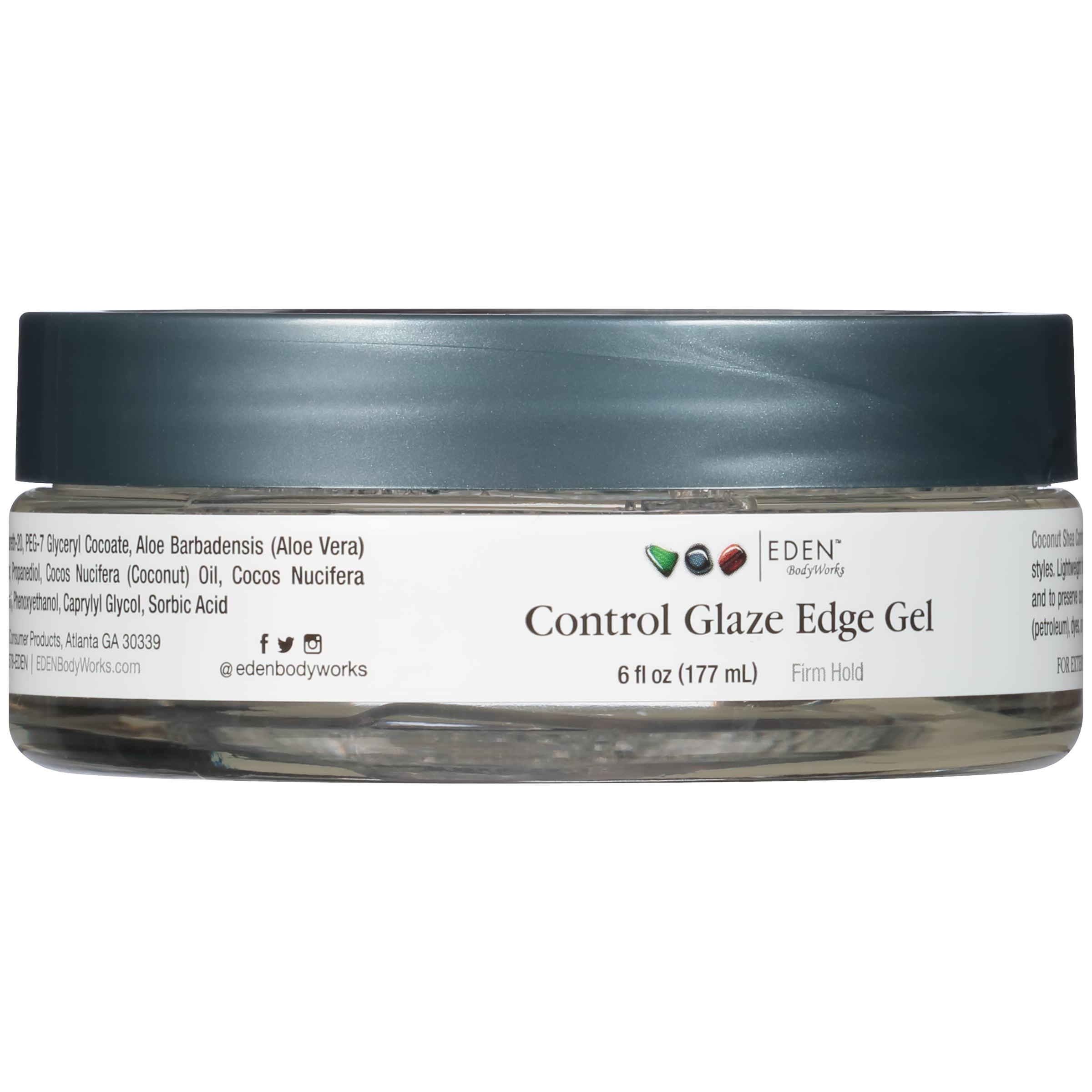 Eden BodyWorks Coconut Shea Control Glaze Edge Gel, 6 oz