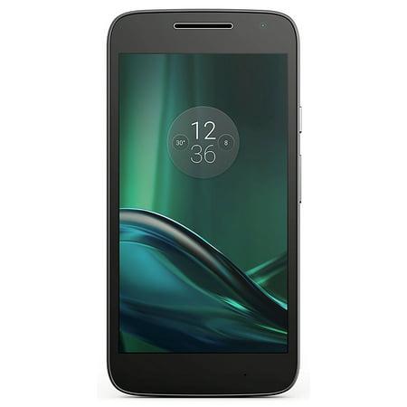 Motorola Moto G Play XT1609 16GB Unlocked GSM 4G LTE Quad-Core Android Phone / 8MP Camera - Black (Certified (Motorola Moto G 16gb Price In India)