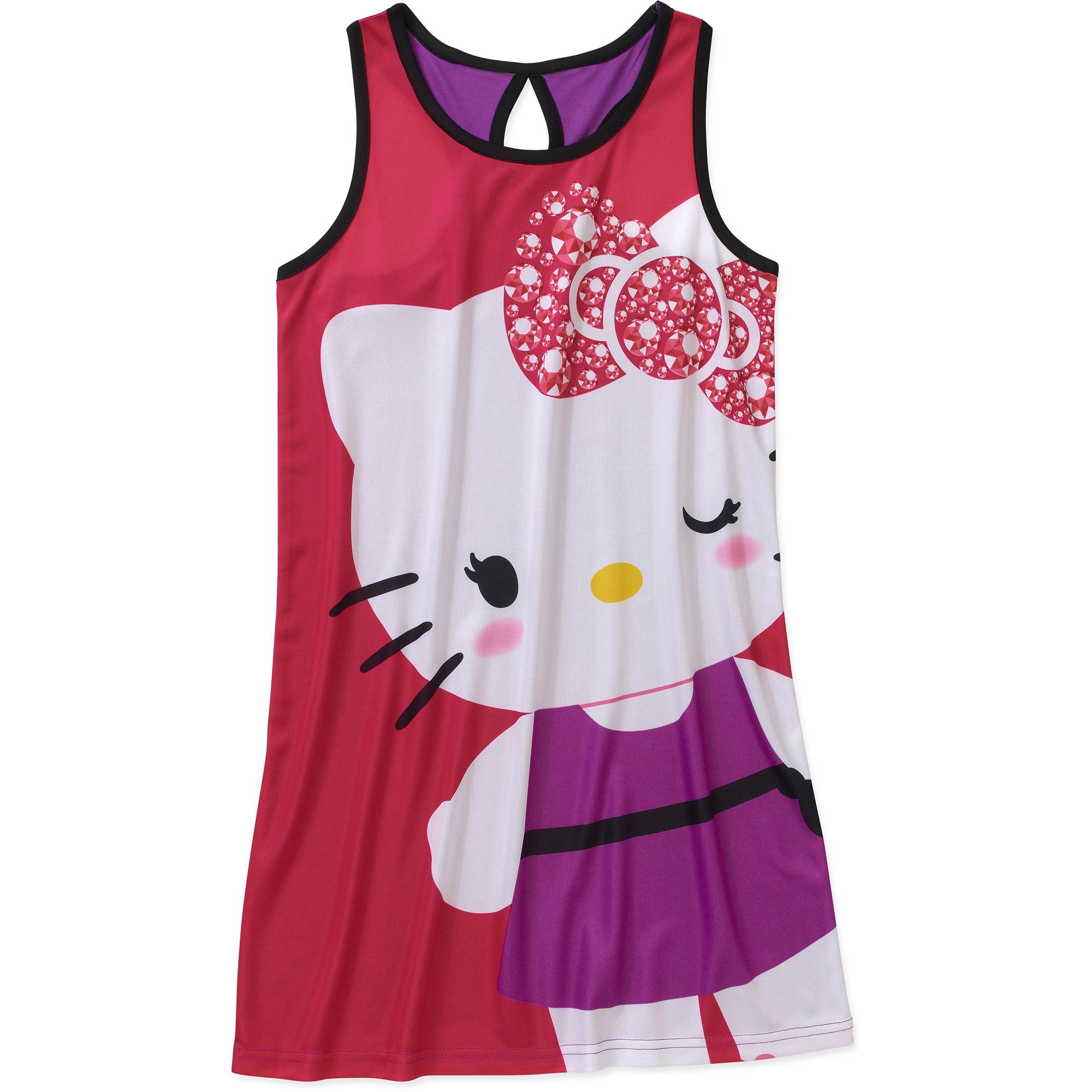Hello Kitty Girls' Pajama Nightgown