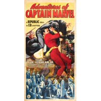 "Adventures of Captain Marvel - movie POSTER (Style D) (11"" x 17"") (1941)"