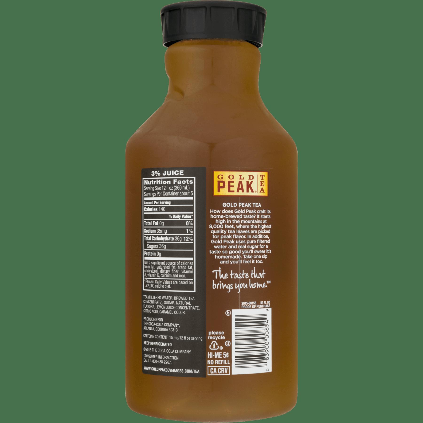 Gold Peak Lemonade Tea, 59 Fl. Oz