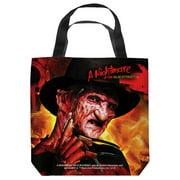 Nightmare On Elm Street Freddy'S Boiler Room Tote Bag White 9X9