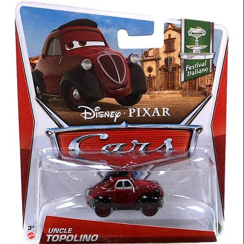 Disney Cars Series 3 Uncle Topolino Diecast Car by