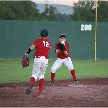 Canvas Print Game Baseball Ball Kid Boys Player Team Sport Stretched Canvas 10 x 14