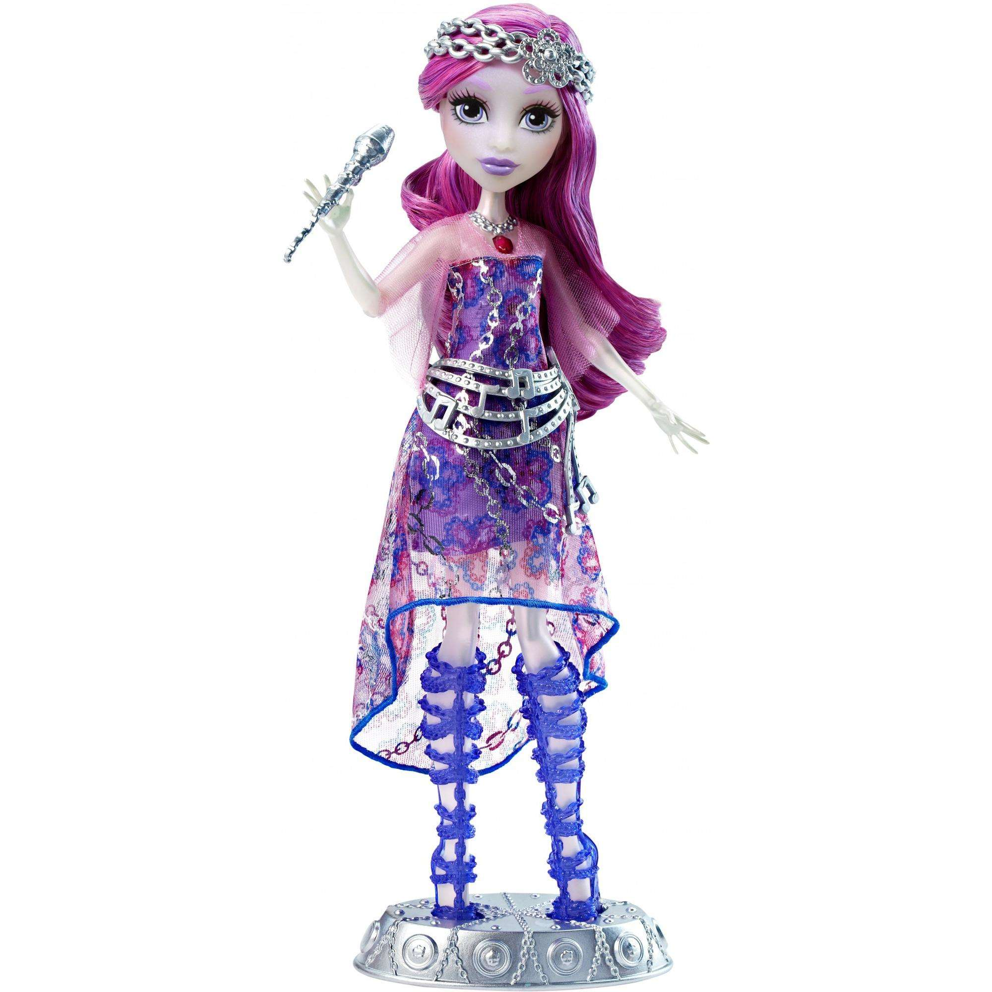 Monster High Welcome To Monster High Singing Popstar Ari Hauntington Doll by Mattel