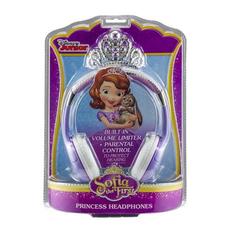Disney Sofia the First Princess Headphones