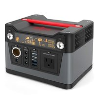 Rockpals 300W Portable Power Station 75000mAh Generator for CPAP,110V AC Outlet, QC3.0 USB, 12V/24V DC for Home, Camping
