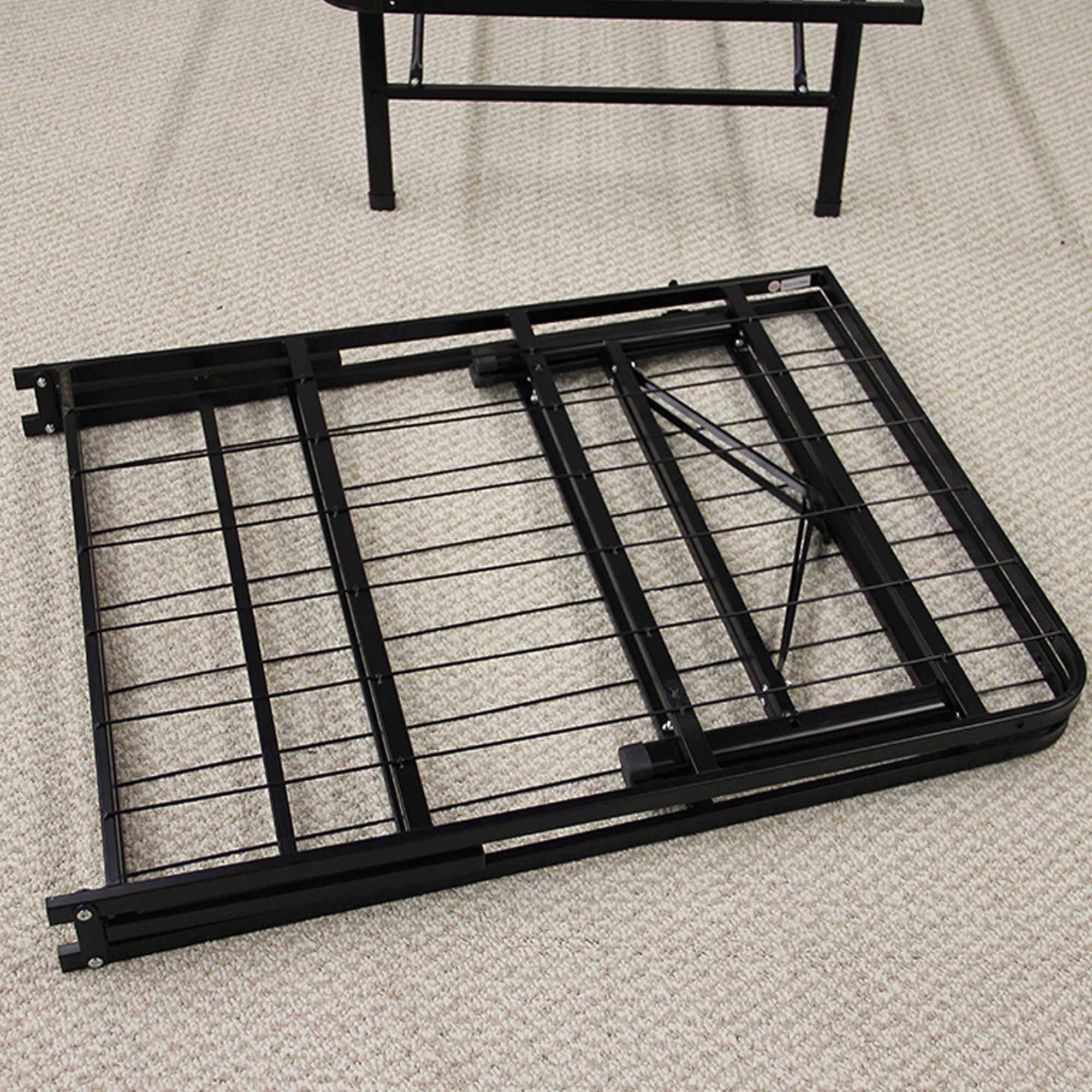 modern sleep platform metal bed frame mattress foundation walmartcom - Metal Bed Frames Full
