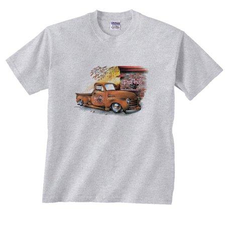 48 Chevrolet Pickup Truck Rat Hole Bar Chevy (Chevy Truck T-shirt)