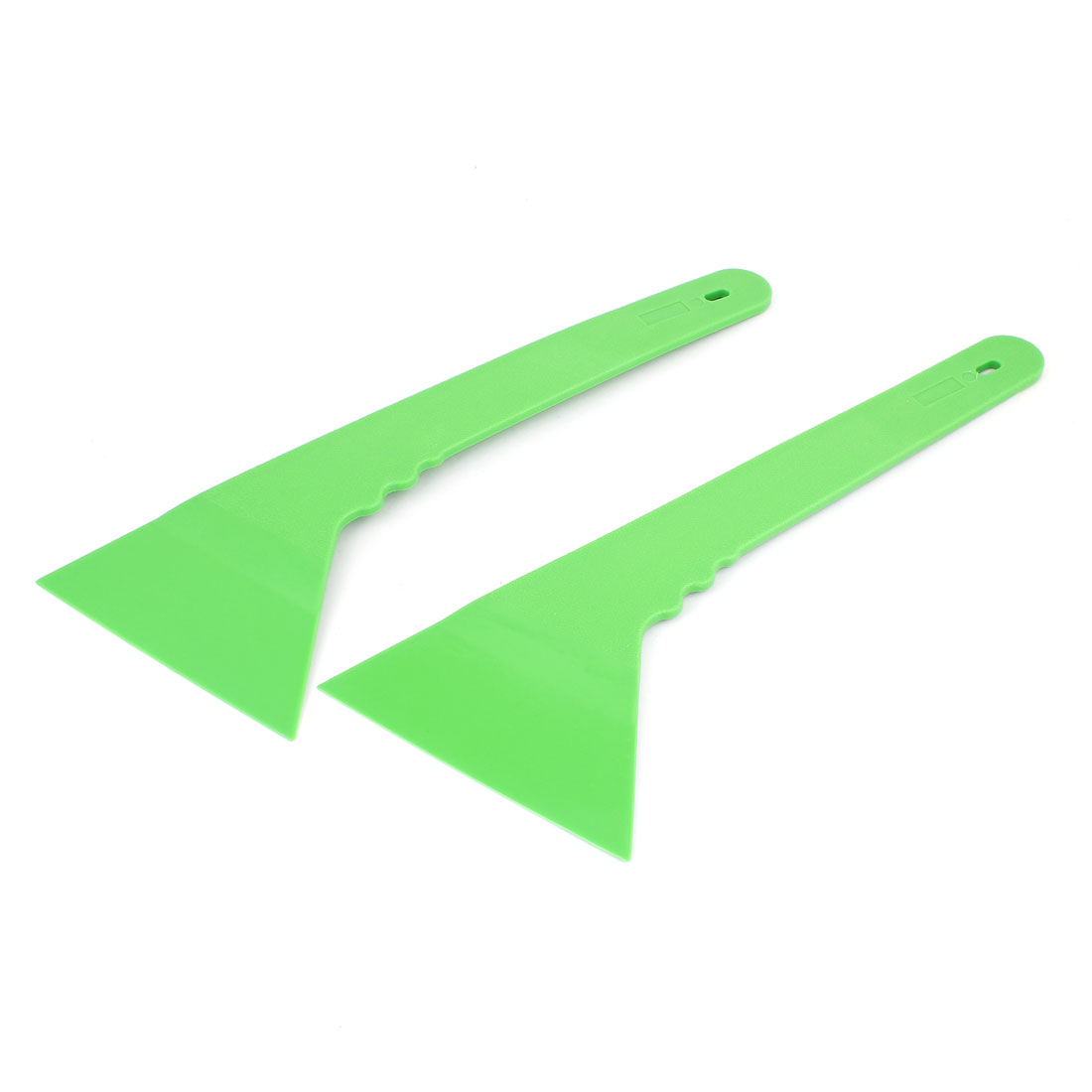 Unique Bargains Car Auto Window Windshield Plastic Tint Film Scraper Cleaning Tool Green 2 Pcs